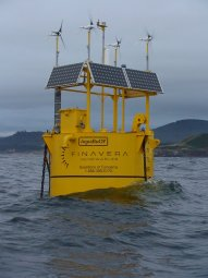 Finavera Aquabuoy wave power