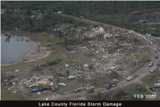 February 2007 Lake County Florida Tornado