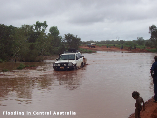 Central Australia Flooding January 2007