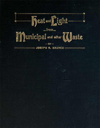 heat and light from waste