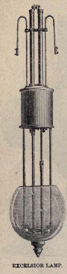 Excelsior Arc Lamp 1888