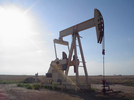 Oil well in Texas