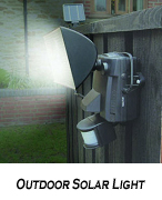 solar out door light