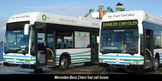 Mercedes-Benz Citaro fuel cell buses