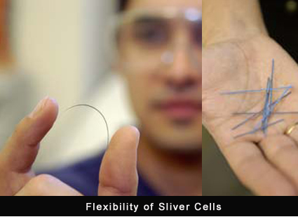Solar Sliver Cell technology wafers
