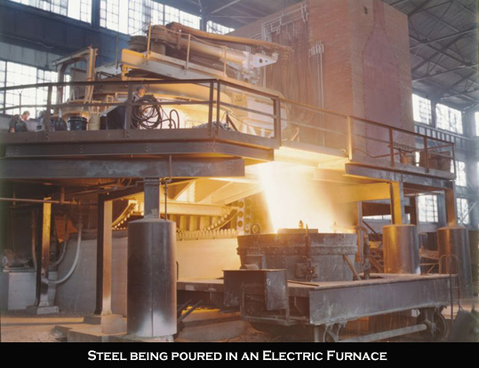 Electric Steel Furnace