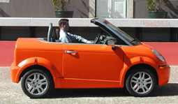 THINK Open electric car