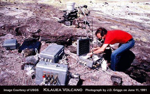 continuous volcano monitoring
