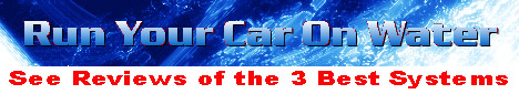 water as fuel for cars