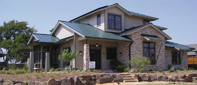 Zero Energy Home in North Texas (DOE)