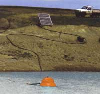 solar pump float