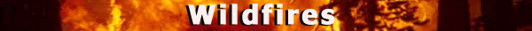 Severe wildfires title