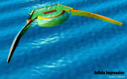 Wave Dragon artist's impression